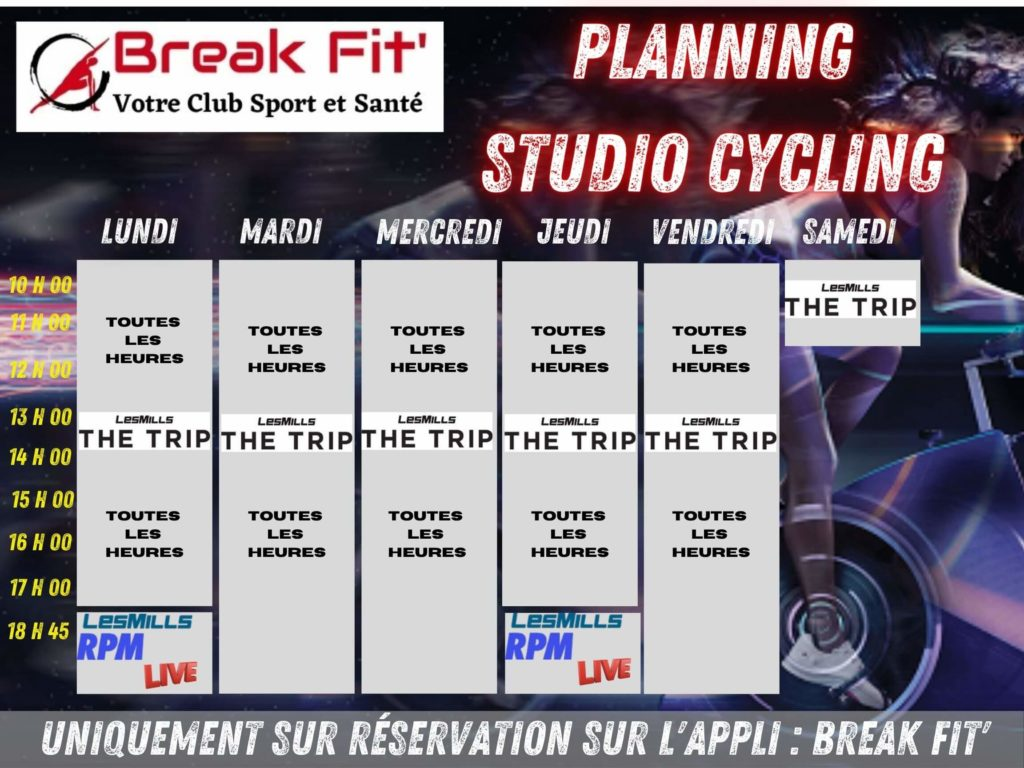 Planning Studio Cycling Breakfit